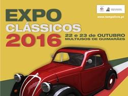 Expo Clássicos 2016: carros com história estão de regresso ao Multiusos de Guimarães
