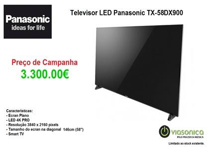 TX58DX900 Promoção Televisores - Televisor Panasonic