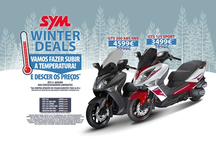 Campanha SYM Winter Deals