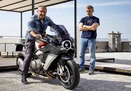 Aldo Drudi, o homem responsável pelo design dos capacetes de Valentino Rossi, acaba de apresentar a Burasca 1200, a sua primeira moto.