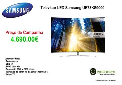 UE78KS9000 Promoção de Televisores - Televisor Samsung