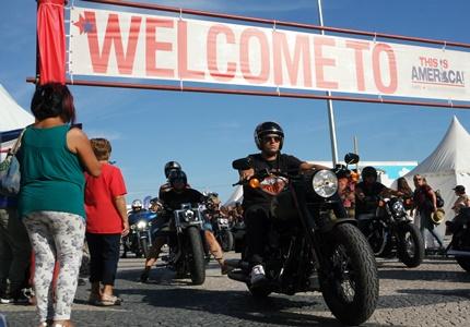 Parada Harley-Davidson em Lisboa - This is América