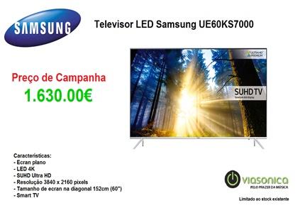 UE60KS7000 Promoção de Televisores - Televisor Samsung