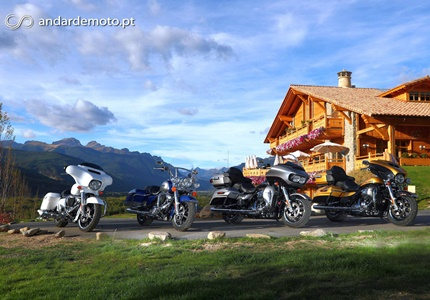Contacto: Gama Touring da Harley-Davidson para 2017