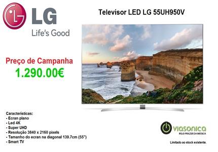 55UH950V Promoção de Televisores - Televisor LG