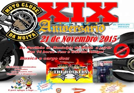 XIX Aniversário do Moto Clube Amigos da Moita