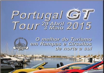 Portugal GT Tour 2015 - Uma forma desportiva diferente para usar o seu GT em Turismo de qualidade
