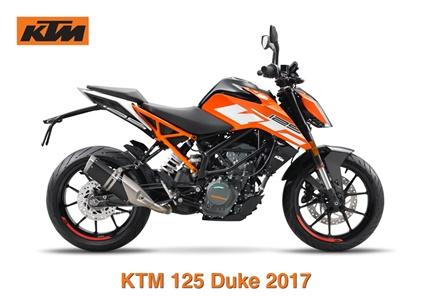 KTM 125 Duke ABS 2017