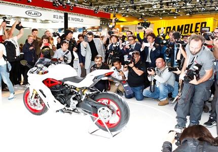 Ducati apresenta novo modelo na Intermot, o Salão de Colónia 2016