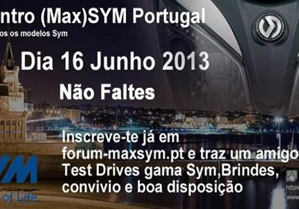1º Encontro Max SYM Portugal