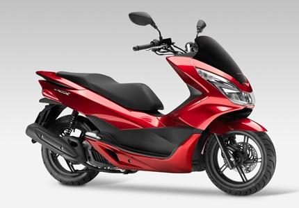 Honda PCX 125 - versão 2017 mais ecológica e melhor calçada