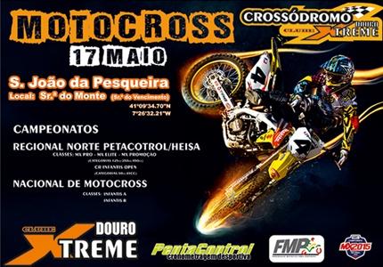 Regional Norte PentaCrontrol e Nacional Infantis com próxima etapa no Crossódromo Clube DouroXtreme