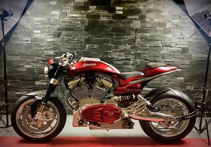 Avington Pearl - muscle bike à francesa