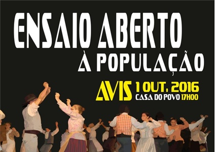 Rancho Folclórico de Avis promove Ensaio Aberto à população