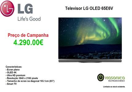 OLED65E6V Promoção Televisores - Televisor LG