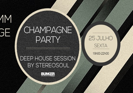 Champagne Party no ChillBar em Lisboa