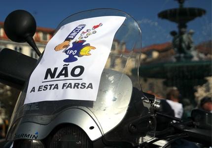 Motociclistas portugueses disseram não ao negócio das inspecções obrigatórias às motos!