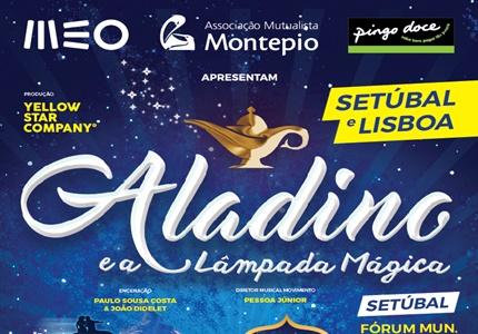 """""""Aladino e a Lâmpada Mágica"""" ilumina este Natal em Lisboa e Setúbal"""