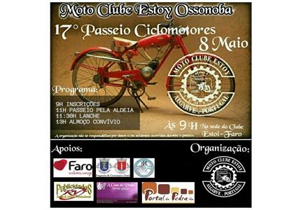 17º Passeio de Ciclomotores do Moto Clube de Estoy - Ossonoba