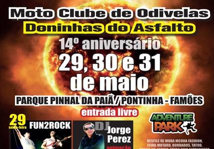 """14º Aniversário do Moto Clube de Odivelas """"Doninhas do Asfalto"""""""