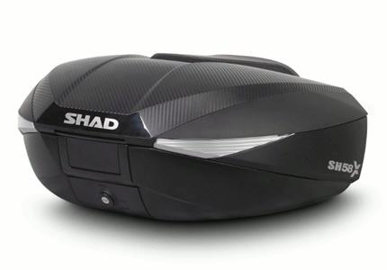 Top Case Shad SH58X e SH59X - com capacidade variável
