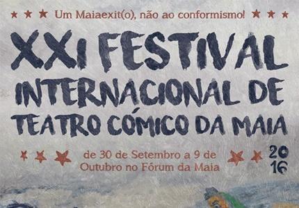 XXI Festival Internacional de Teatro Cómico da Maia