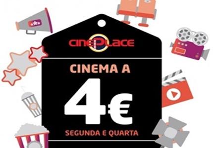 Sessões de cinema a preços reduzidos às segunda e quarta-feira no Serra Shopping
