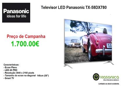 TX58DX780 Promoção Televisores - Televisor Panasonic