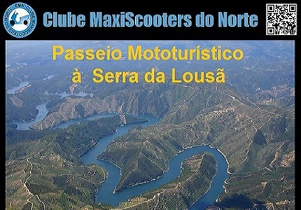 23/10/2016 - Passeio Mototurístico à Serra da Lousã