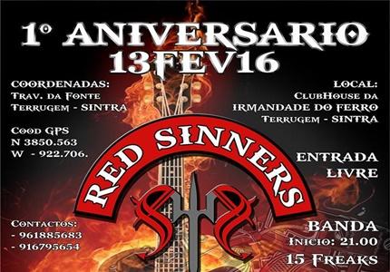 1º Aniversário Red Sinners Sintra