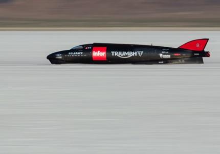 Triumph bate próprio recorde em Bonneville