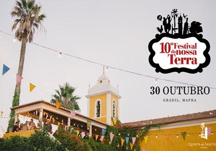 10º Festival da Nossa Terra na Quinta de Sant'Ana