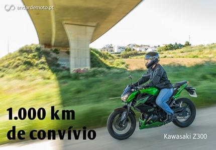 Teste Kawasaki Z300 - 1000km de convívio