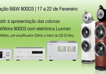 Apresentação B&W 800D3