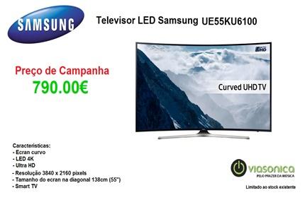 UE55KU6100 Promoção de Televisores - Televisor Samsung