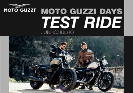 Os Moto Guzzi Days vão decorrer durante os meses de Junho e Julho