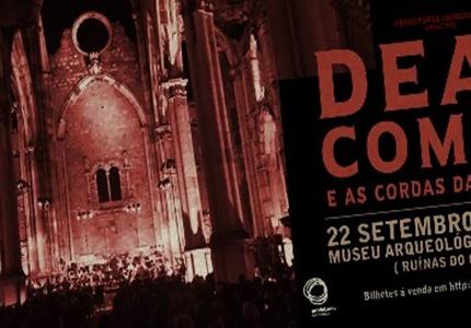 Dead Combo e as Cordas da Má Fama esgotam concerto único no Museu Arqueológico do Carmo