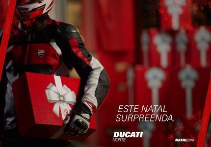 """Ducati Norte - campanha """"O Pai Natal Somos Nós"""""""