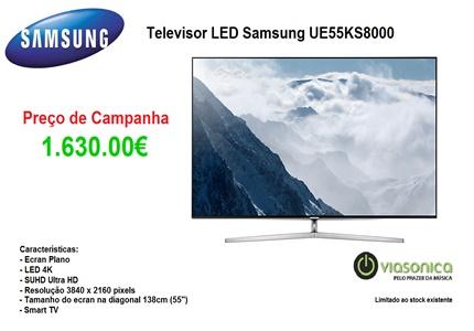 UE55KS8000 Promoção de Televisores - Televisor Samsung