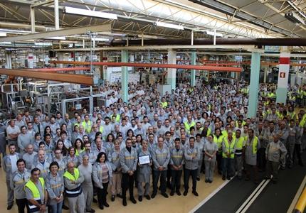 Renault Cacia distinguida como a melhor fábrica de caixas de velocidades da aliança Renault-Nissan