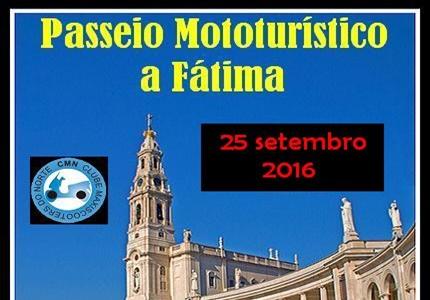 25/09/2016 - Passeio Mototurístico a Fátima
