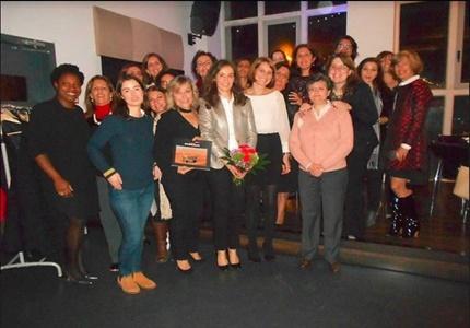 Elisabete Jacinto no 3º Profess ional Women's Group da Dress for Success