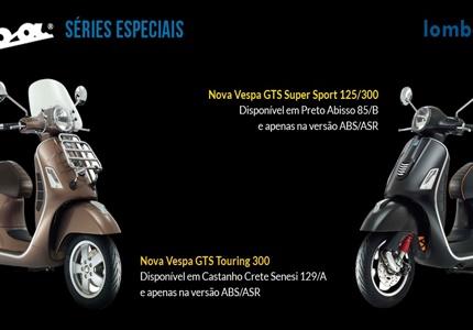 Novas séries especiais Vespa GTS