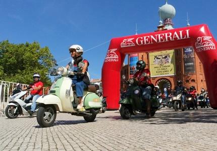 Lisboa Scooter Day 2016 - um dia com muita mobilidade