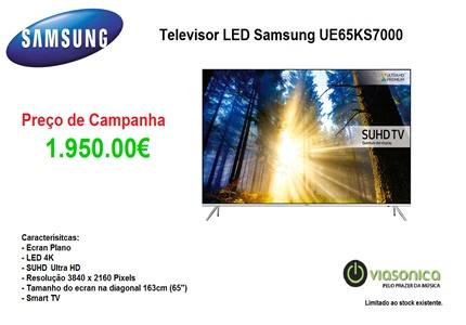 UE65KS7000 Promoção Televisores - Televisor Samsung