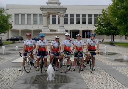Ana Azenha, Liliana Jesus, Soraia Silva, Ana Tomás, Rita Soares e Celina Carpinteiro
