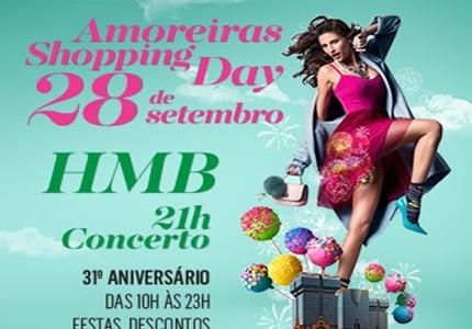 Amoreiras Shopping comemora 31º aniversário com HMB e DA CHICK