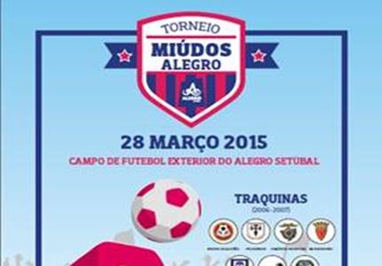 1º Torneio de Futebol Miúdos Alegro