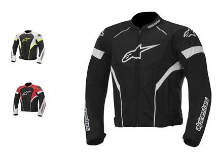 Blusão de motociclismo Alpinestars T-GP Plus R - um desportivo para o verão