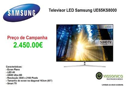UE65KS8000 Promoção Televisores - Televisor Samsung